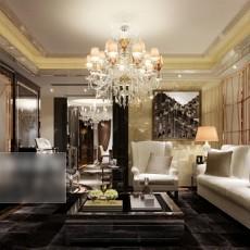 客厅水晶灯3d模型下载