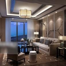 客厅吊灯3d模型下载