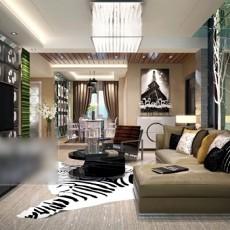 中式客厅吸顶灯3d模型下载