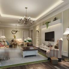 欧式客厅3d模型下载