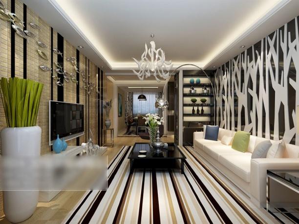 现代客厅茶几3d模型