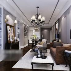 现代风格客厅吊灯3d模型下载