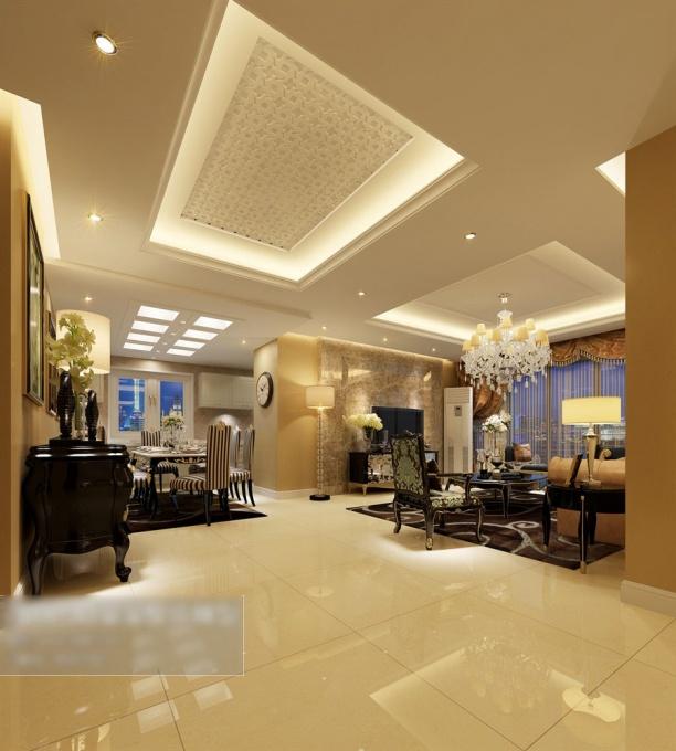 客厅整体3d模型