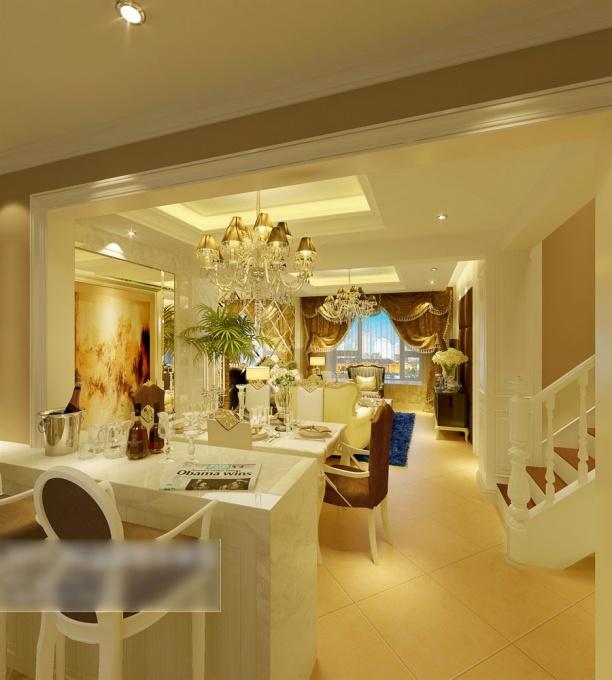 3d欧式餐厅模型下载