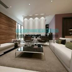 家装现代客厅沙发3d模型下载