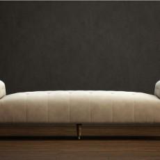 卧室沙发免费3d模型下载