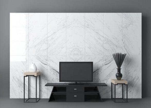 电视墙3d模型
