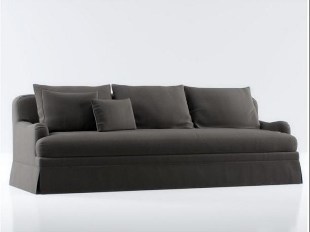 现代3d三人沙发模型免费下载