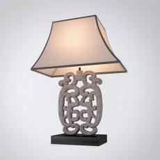 中式石雕装饰台灯3d模型下载