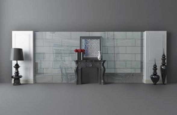 欧式风格实木电视柜模型下载
