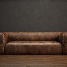 最新皮沙发免费3d模型下载