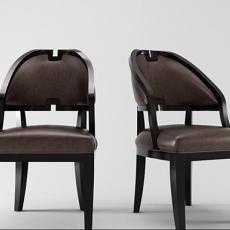 新古典家居椅3d模型下载