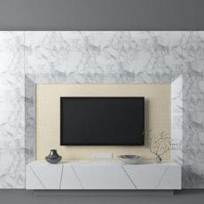 大理石电视墙3d模型下载