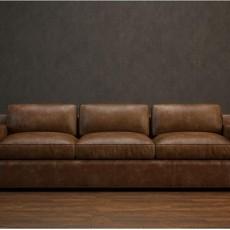 最新真皮沙发免费3d模型下载