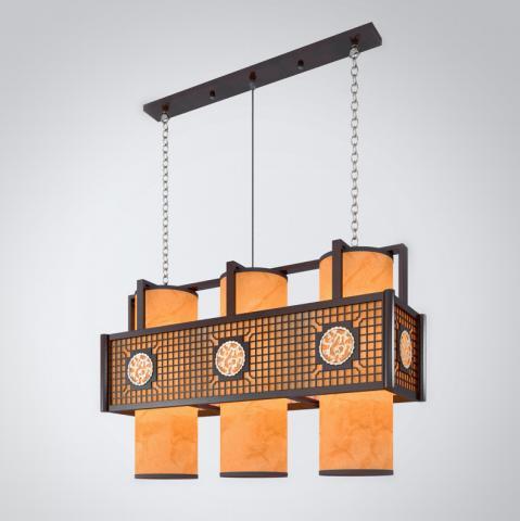 中式组合餐厅吊灯3d模型下载