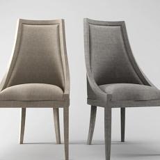 新古典椅子3d模型下载