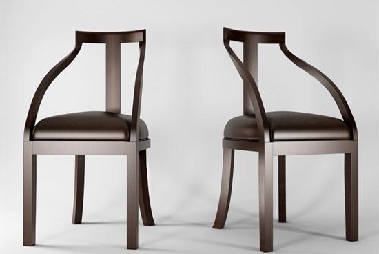 单人椅子3d模型下载