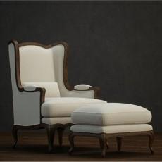 cad三维椅子3d模型下载