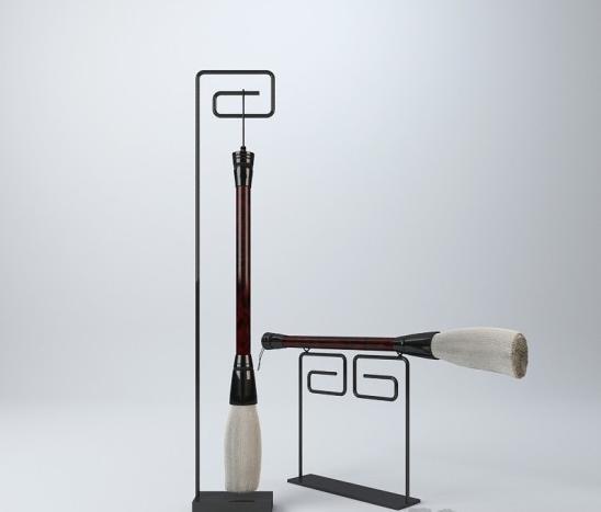 新中式毛笔摆件 3d模型