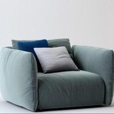 单人小沙发三维3d模型下载