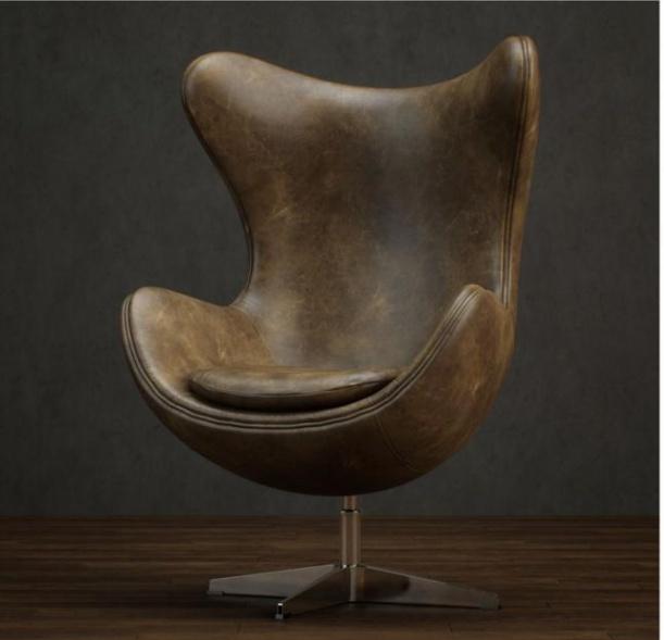 皮质U型椅3d模型下载
