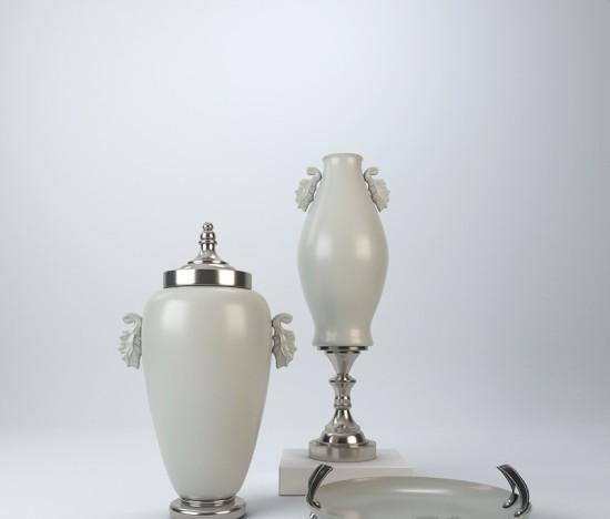 陶瓷摆件 3d模型下载