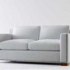 白色max沙发3d模型下载