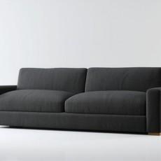 max布艺沙发3d模型下载