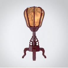 灯笼造型落地灯3d模型下载