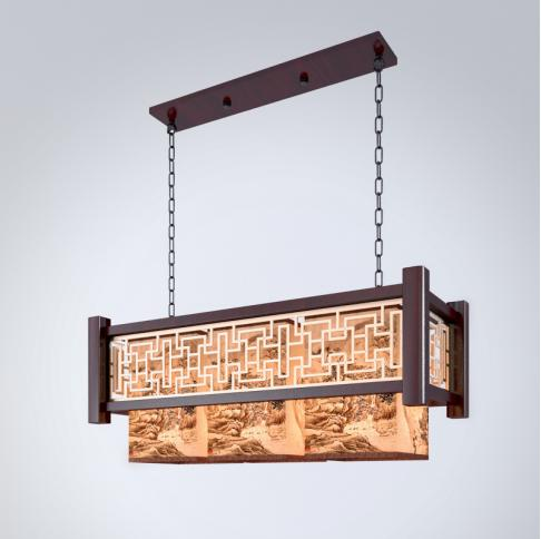 三维餐厅吊灯模型下载
