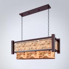 三维餐厅吊灯3d模型下载