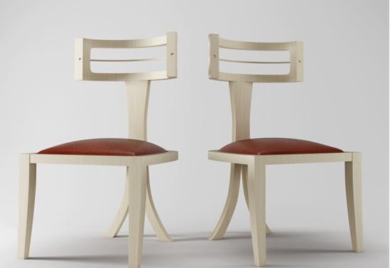 餐厅3d椅子模型下载