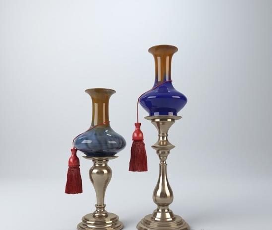 陶瓷饰品 3d模型下载