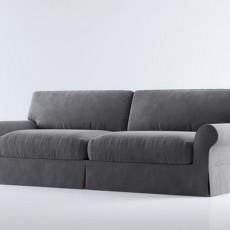max双人沙发3d模型下载