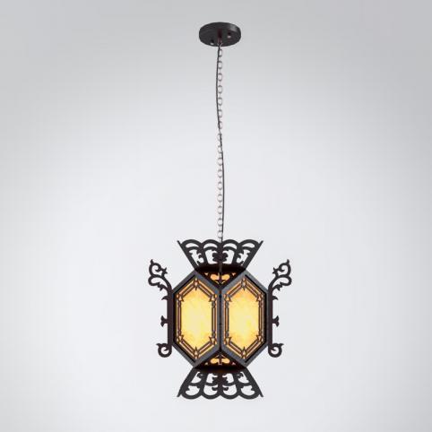 黑色吊灯3d模型下载