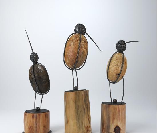 小鸟雕塑摆件 3d模型下载