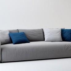 三人沙发三维3d模型下载