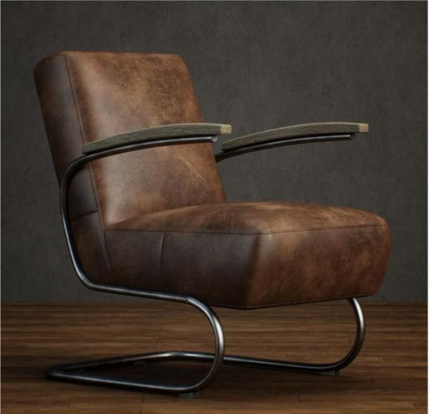 皮质椅子3d模型下载