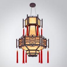 三维手绘吊灯3d模型下载