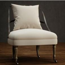 铁艺单椅沙发 3d模型下载