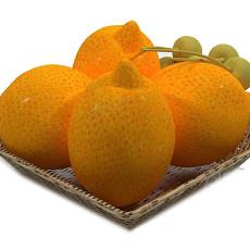 水果盘3d模型下载