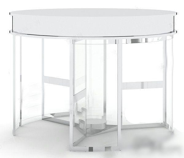 旋转玻璃门3d模型下载