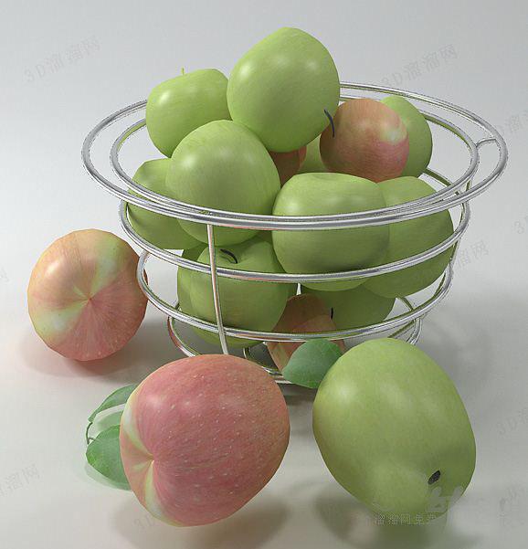 水果盘3d模型大全
