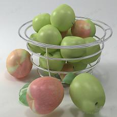 水果盘大全3d模型下载