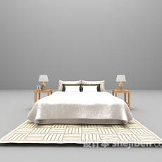 现代床大全3d模型下载