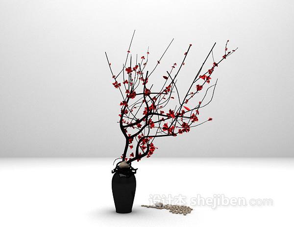 装饰树木3d模型下载