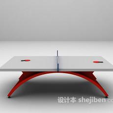 乒乓球台3d模型下载