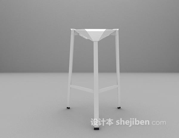 吧台椅模型下载
