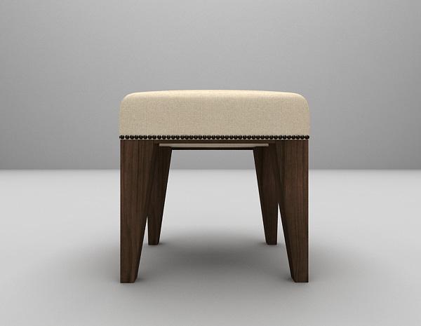 沙发凳模型下载