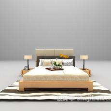 灰色床推荐3d模型下载